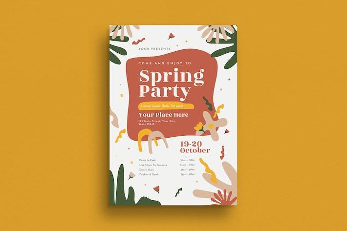Thumbnail for Flyer de fête de printemps