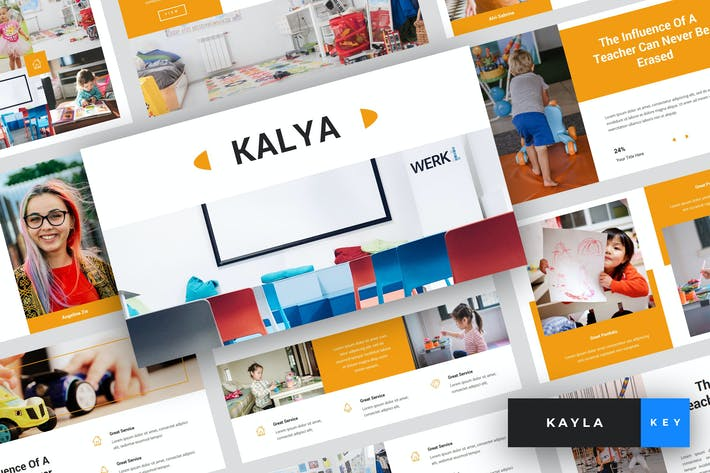 Thumbnail for Kayla - Kindergarten Keynote Template