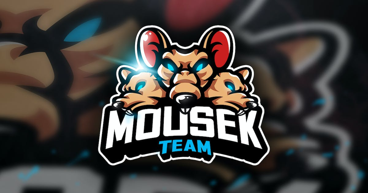 Download Mousek Team - Mascot & Sports Logo by aqrstudio