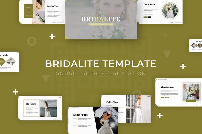 Thumbnail for Bridalite - Google Slide Template