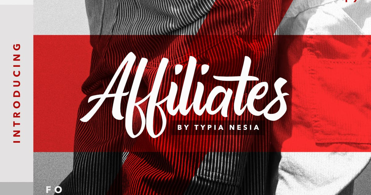 Download Affiliates Font by yipianesia