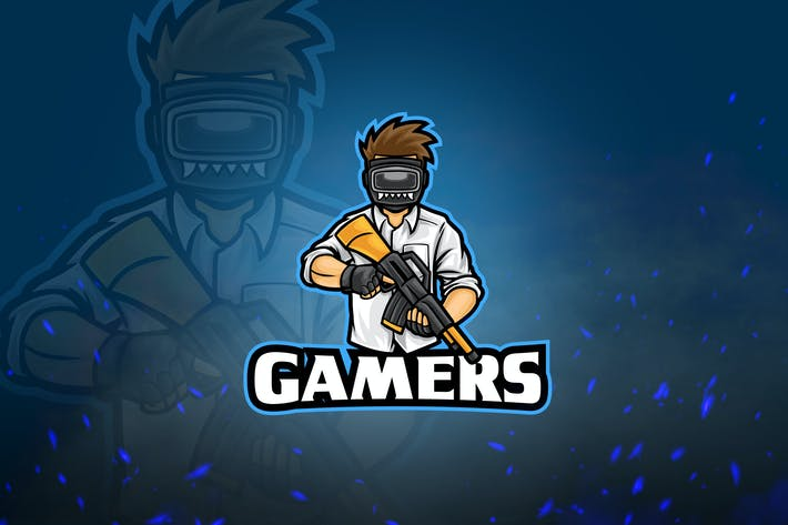 Thumbnail for Shooters Mascot & Esport Logo V5 - Gamers