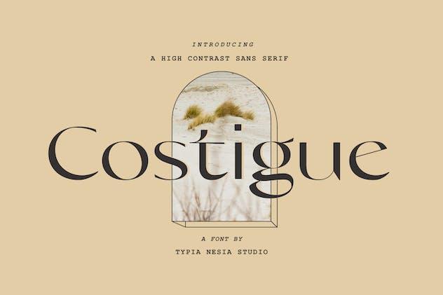 Costigue Modern Luxury Sans