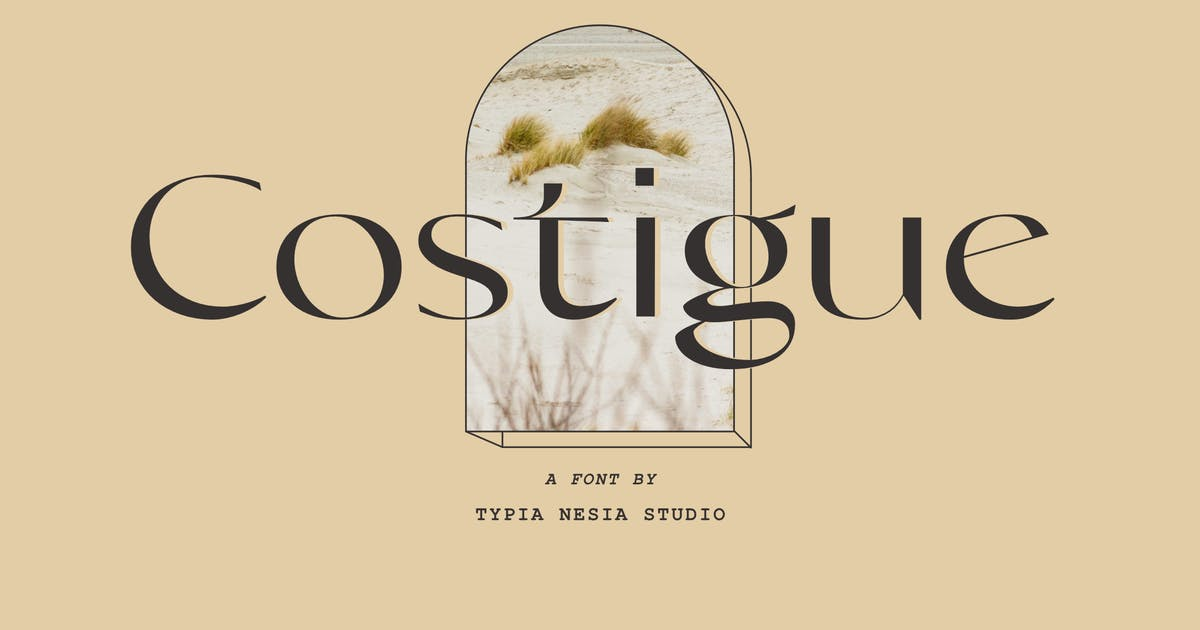 Download Costigue Modern Luxury Sans by yipianesia