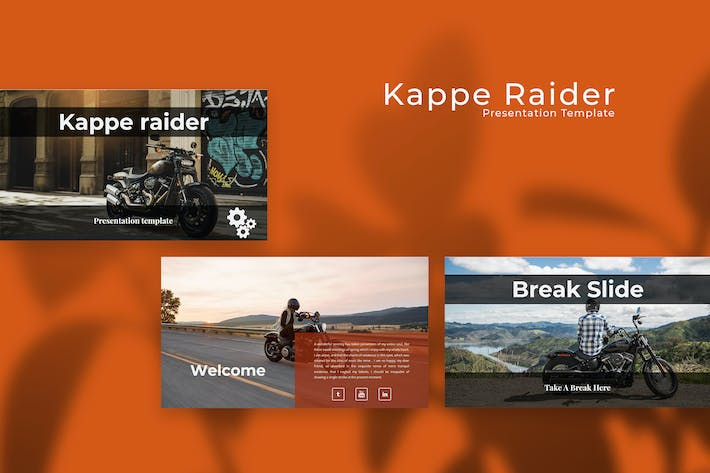 Thumbnail for Презентация Keynote докладов Kappe Raider