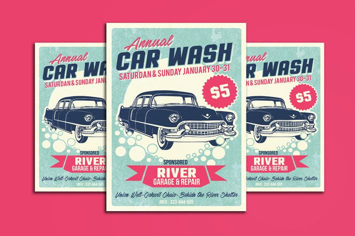 Thumbnail for Car Wash Retro Style