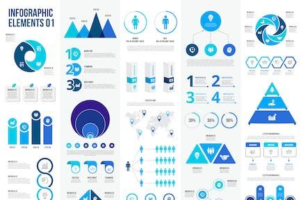 Вектор элементы инфографики
