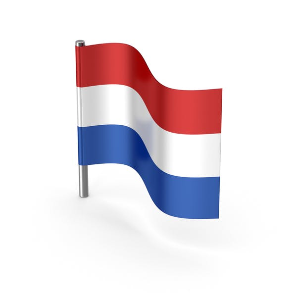 Netherlands Cartoon Flag