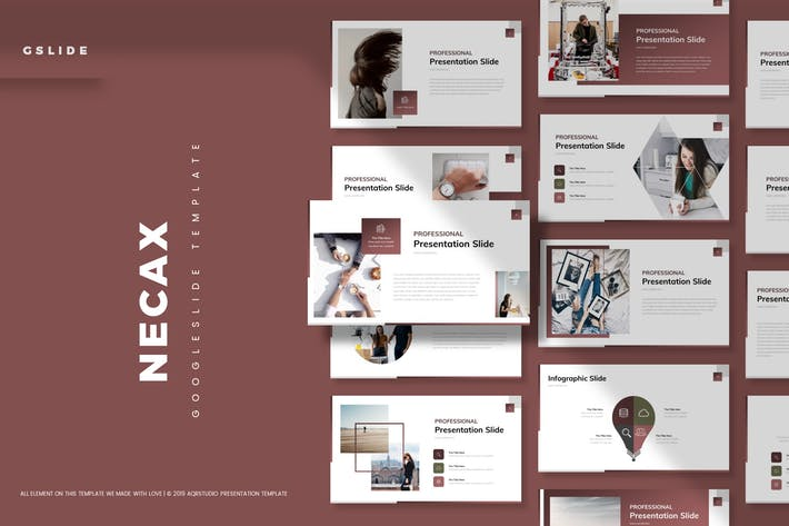 Cover Image For Necax - Google Slide Template