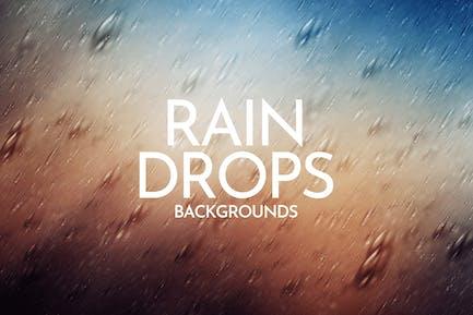 Falling Raindrops Backgrounds