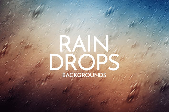 Thumbnail for Falling Raindrops Backgrounds