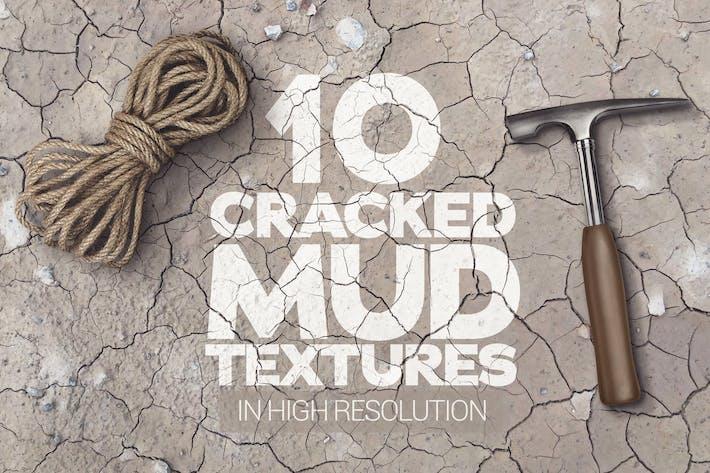 Cracked Mud Textures x10