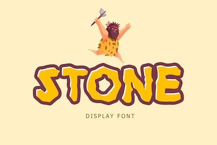 Stone Display Font