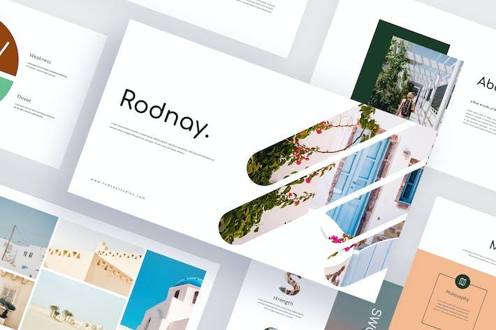 Thumbnail for Rodnay - Reisen Google Slides Vorlage