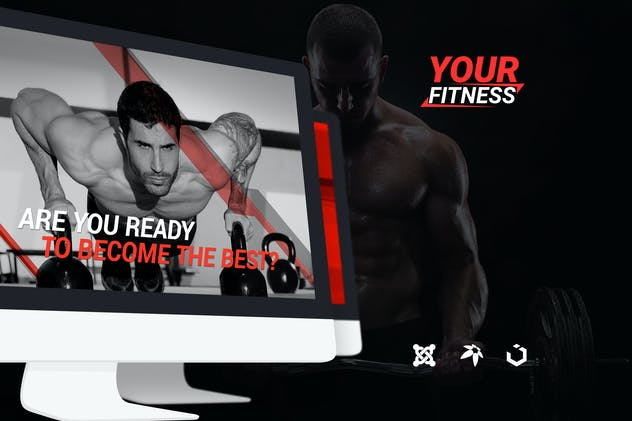 YourFitness — Sport Blog, Fitness Club, Gym Theme - product preview 0