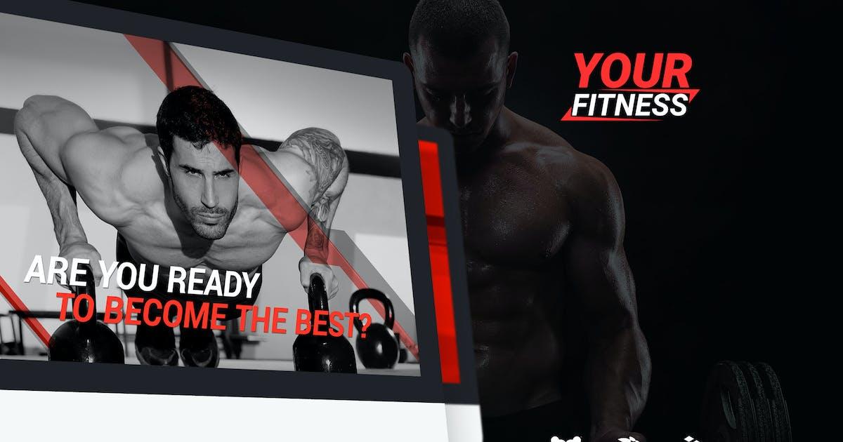 Download YourFitness — Sport Blog, Fitness Club, Gym Theme by torbara