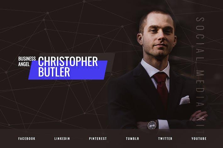 Thumbnail for Business Angel & Coaching – Social Media Kit