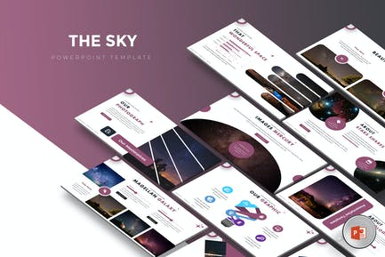 The Sky - Powerpoint Template