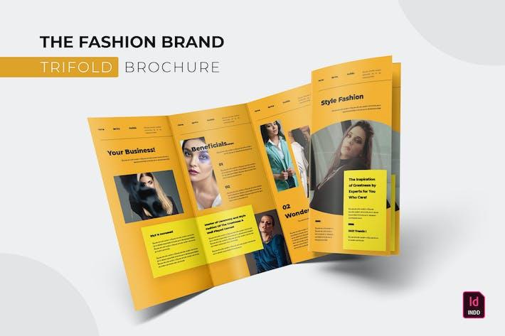 Thumbnail for Modemarke | Trifold Broschüre