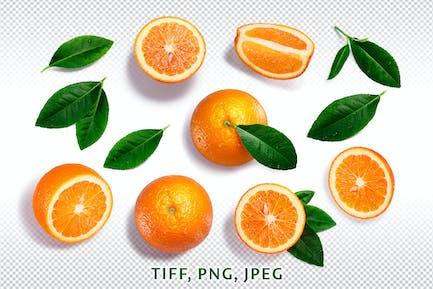 Naranjas de arriba
