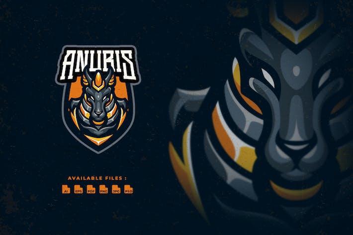 Thumbnail for Logo Anubis Sport et Esport