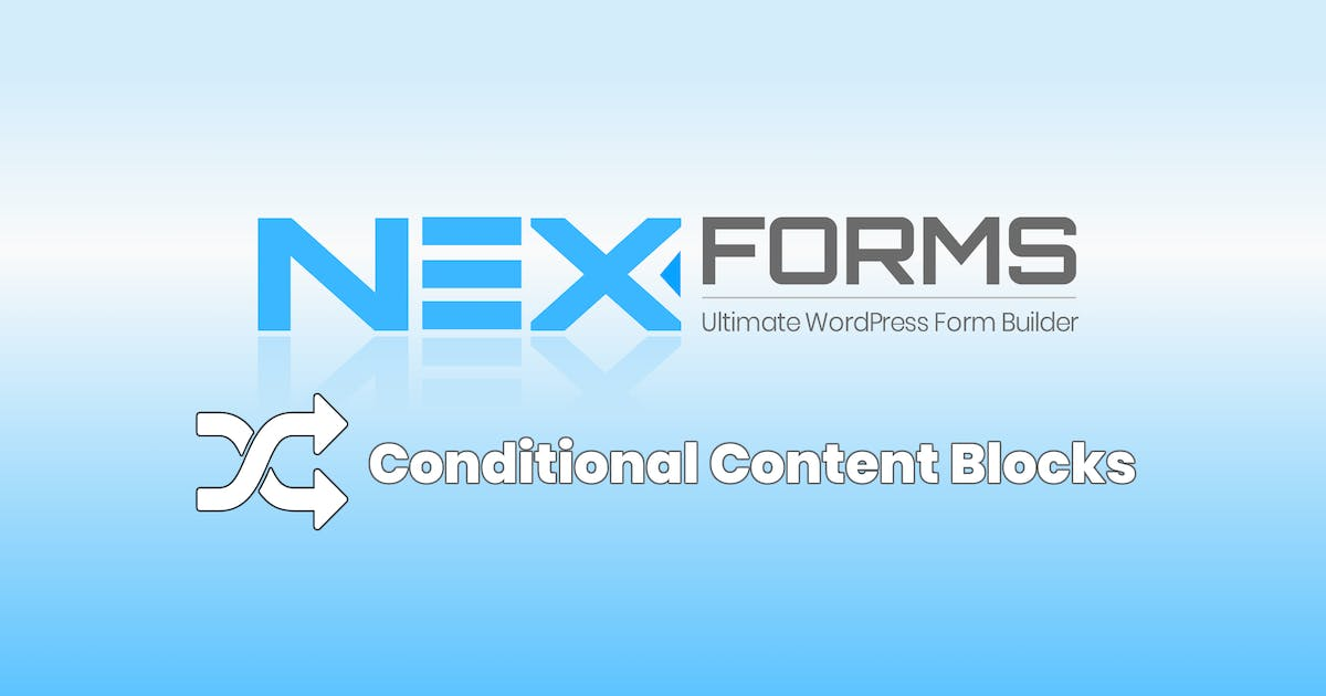 Download NEX-Forms - Conditional Content Blocks Add-on by Basix