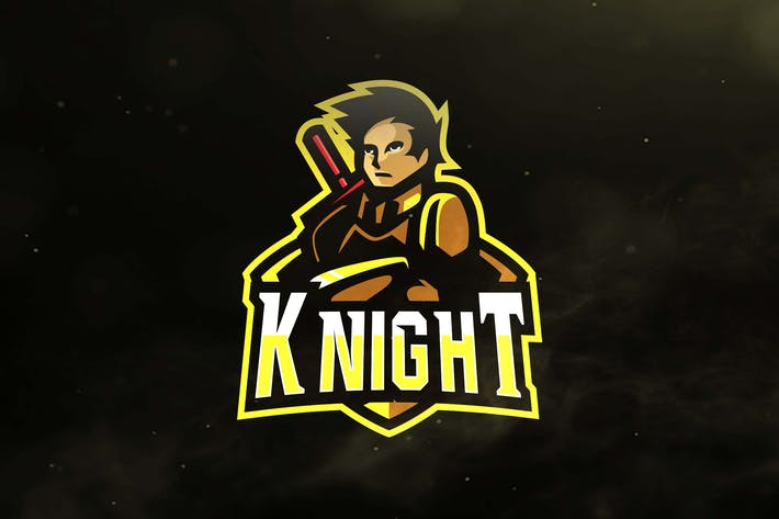 Thumbnail for Knight Sport and Esports Logos
