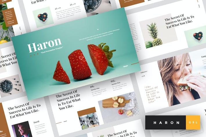 Thumbnail for Haron - Food Google Slides Template