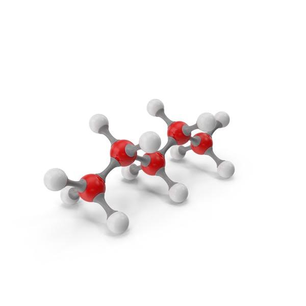 Молекулярная модель пентана