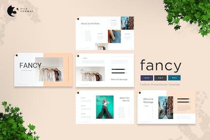 Fancy - Fashion Presentation Template