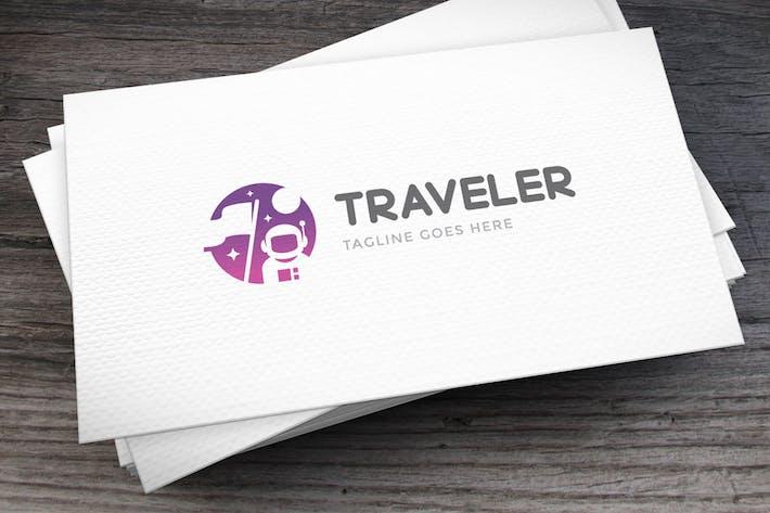 Cover Image For Traveler Logo Template