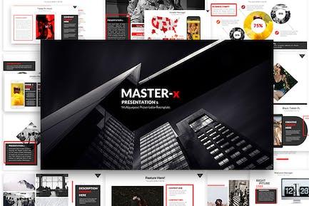 Master-Powerpoint-Präsentation