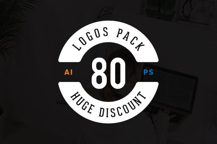 80 Logos Template