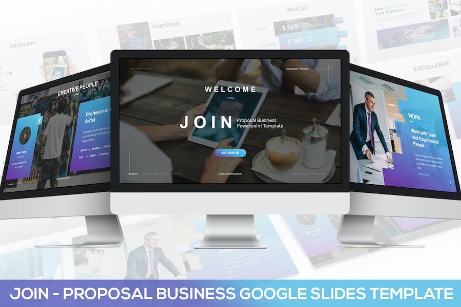 JOIN - Proposal Business Google Slides Template