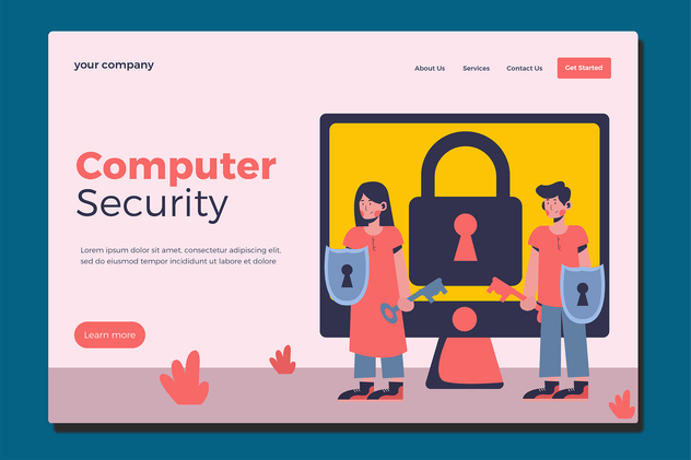Computer Privacy - Landing Page