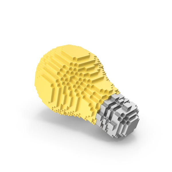 Thumbnail for Voxelated Light Bulb