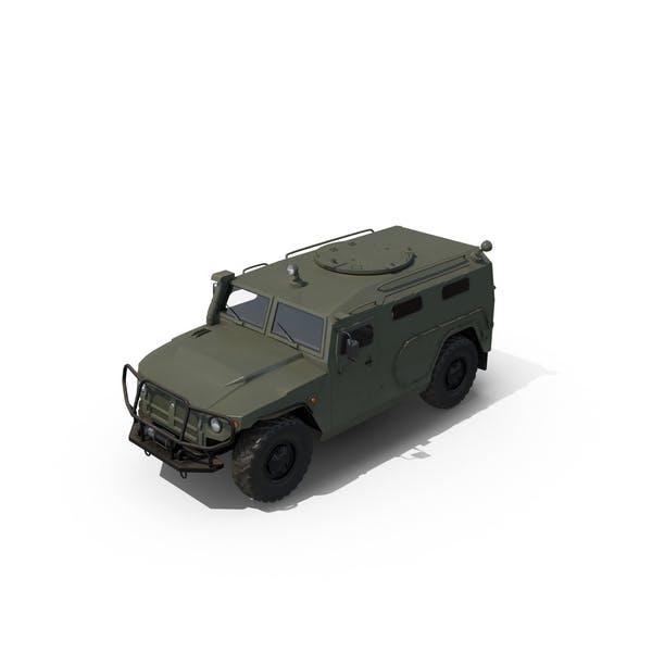 Russian Mobility Vehicle GAZ Tigr M