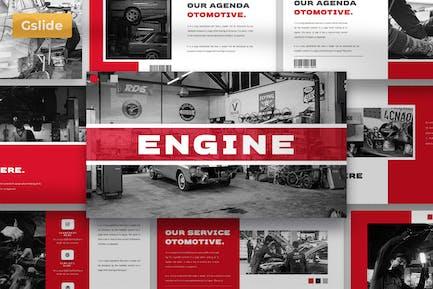 Engine - Google Slide Presentation Template