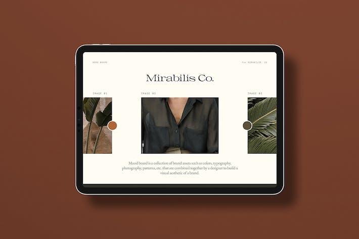 Thumbnail for Доски для торговых марок Mirabilis - Шаблон Photoshop