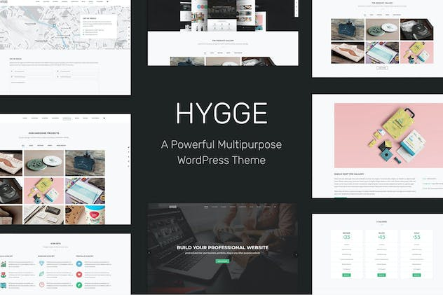 Hygge - Multipurpose Single/Multi Page WP Theme
