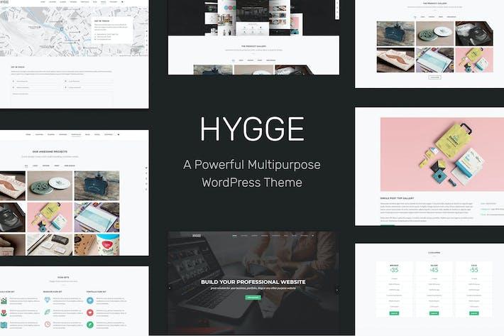 Thumbnail for Hygge - Mehrzweck-TThema, einseitig, mehrseitig, WP