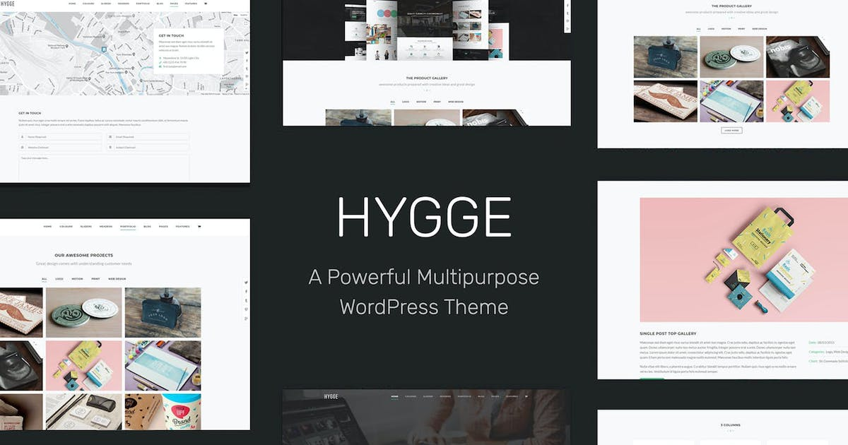 Download Hygge - Multipurpose Single/Multi Page WP Theme by tommusrhodus
