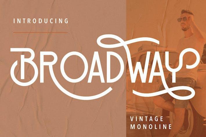 Broadway Vintage Monoline