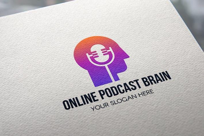 Thumbnail for Online Podcast Brain Logo
