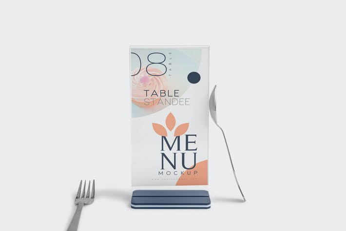 Thumbnail for Table Menu Mockups