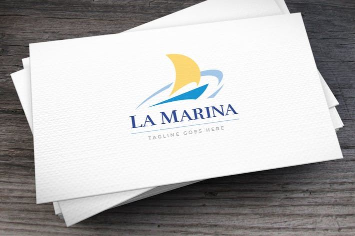 Cover Image For Marina Logo Template