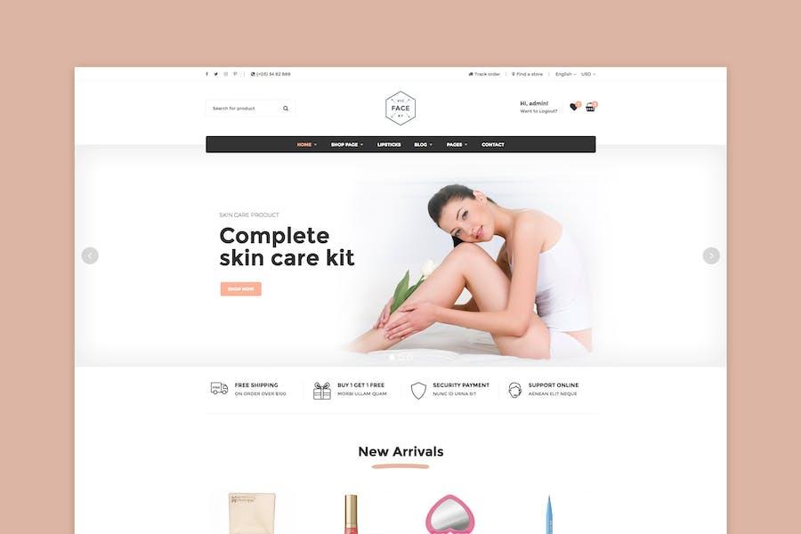 Vicky - Cosmetic WooCommerce WordPress Theme