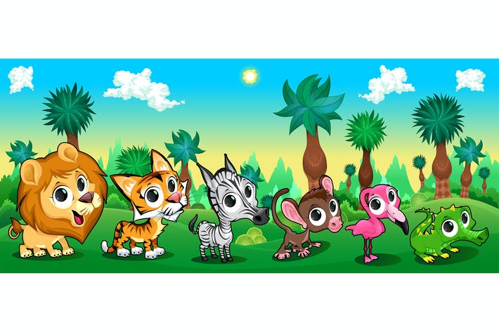 Thumbnail for Animals in Forest