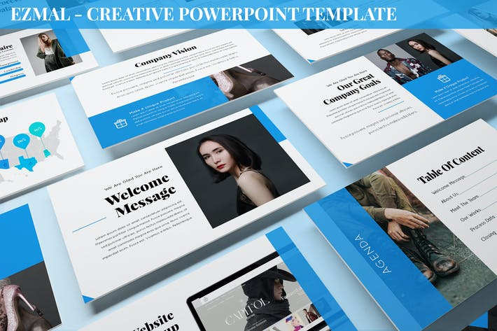 Thumbnail for Ezmal - Creative Powerpoint Template