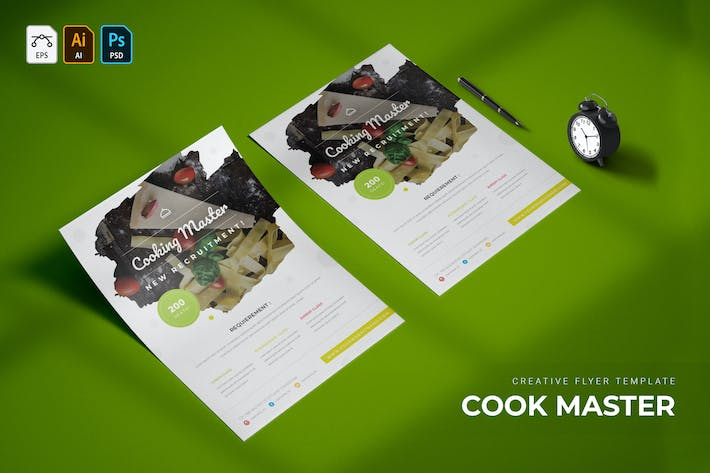 Thumbnail for Cooking Master | Flyer